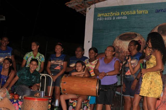 Homenagem aos núcleos gestores jovem e adulto do projeto Rios de Encontro