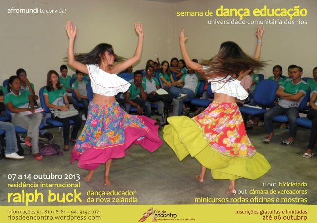 Semana de Dança Educação da Universidade Comunitária dos Rios