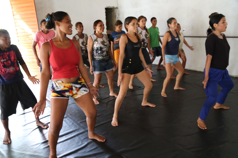 #9B6330 Duas semanas de dança panamazônica preparam AfroMundi para 'Chico  2880x1920 px Projeto Cozinha Comunitária Governo Federal_4147 Imagens