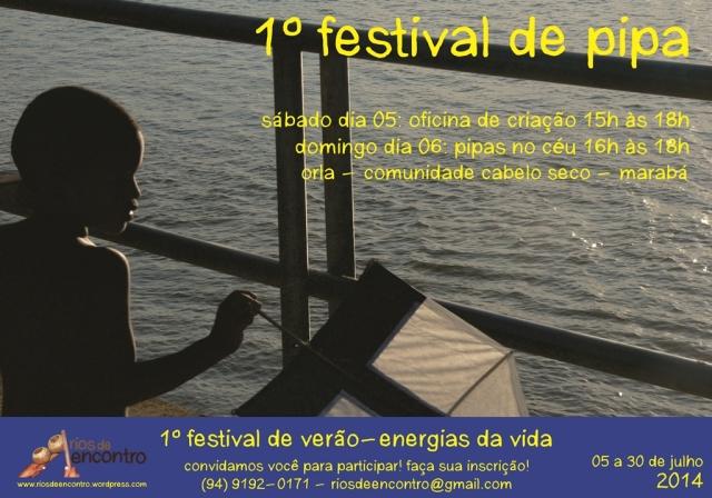 Festival da Pipa (panfleto)