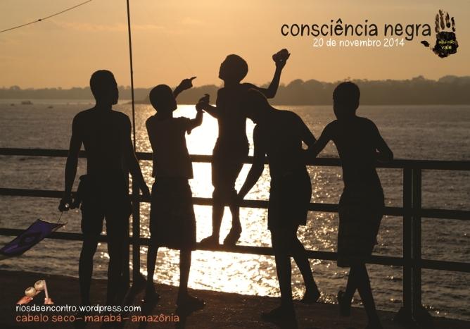 Nossa intervenção na rua na nossa comunidade Cabelo Seco retrata energia solar, o Rio Tocantins, e os jovens mais vulneráveis no Brasil, e lança nossa nova logo-marca 'aqui não vale'.