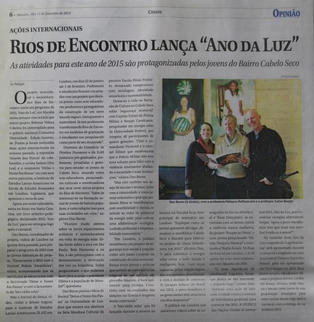 Jornal Opiniao (10.02.15)
