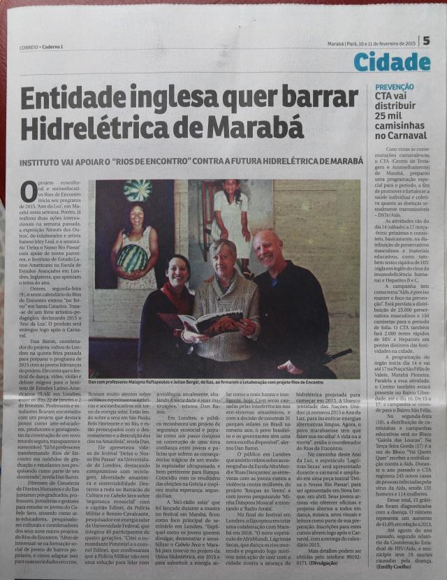 Jornal Tocantins (10.02.15)