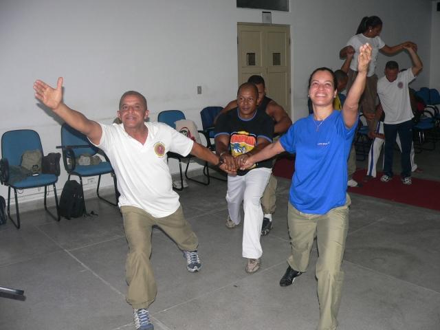 Rios de Encontro vem realizando cursos de formação com a Polícia Militar na Bahia desde 2009 e no Pará desde 2010