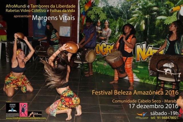 A festa cultura celebra as margens vitais do Rio Tocantins que ainda irriga a comunidade popular de Cabelo Seco.