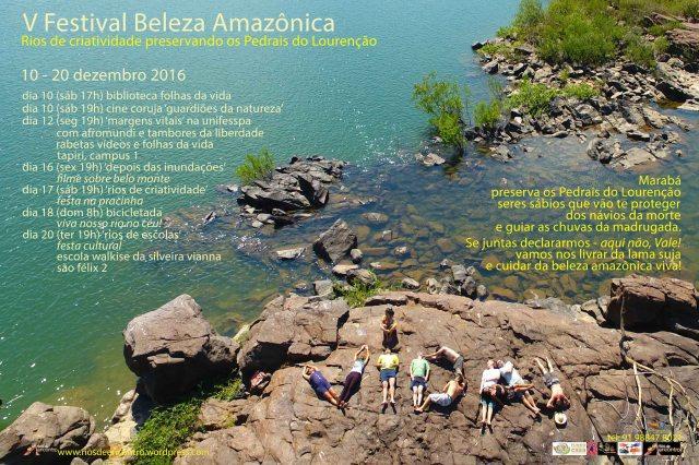A programação do V Festival Beleza Amazônica contempla escolas públicas, universidades públicas e comunidades populares num denúncio da PEC 55 e numa celebração da vida sustentável.